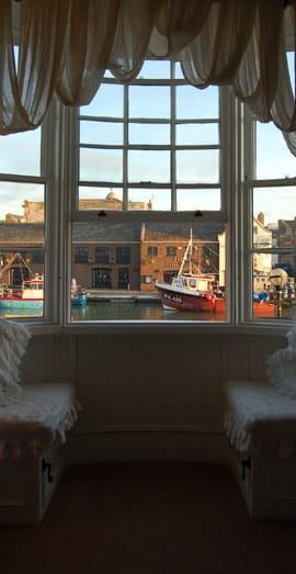Bed and Breakfast Room Weymouth HArbour View
